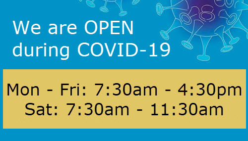 We are OPEN during COVID-19